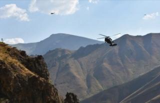 Hakkari'de teröristlere operasyon
