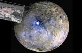 İnanılmaz keşif! Cüce gezegen Ceres'teki...