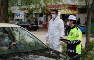 Denizli'de tedbirlere uymayan 1316 kişiye ceza