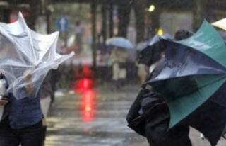 Meteoroloji uyardı! Şiddetli yağış, kuvvetli...