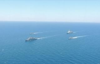 MSB duyurdu: Kuzey Ege'de deniz eğitimleri icra...