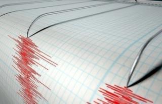 Akdeniz'de gece yarısı korkutan deprem