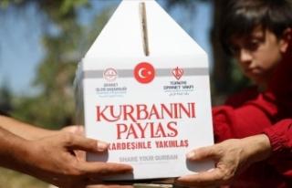 Türkiye Diyanet Vakfı ihtiyaç sahiplerine 557 bin...
