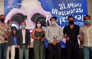 31. Ankara Uluslararası Film Festivali'nde ödüller...