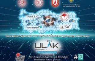 71 ilde yerli baz istasyonu ULAK'tan 'Alo'...