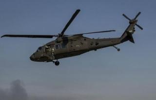 ABD'ye ait askeri helikopter düştü iddiası