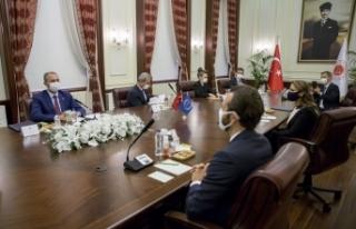 Adalet Bakanı Gül, AİHM Başkanı Spano ile görüştü