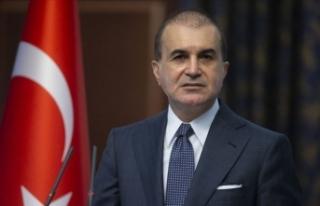 AK Parti Sözcüsü Çelik'ten Yunanistan'a...