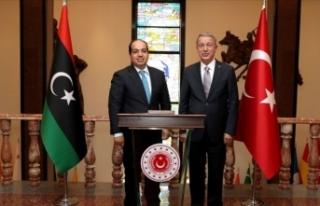 Akar, Libya UMH Başkanlık Konseyi Başkan Yardımcısı...