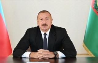 Aliyev duyurdu: Tarihi Hudaferin Köprüsü'ne...
