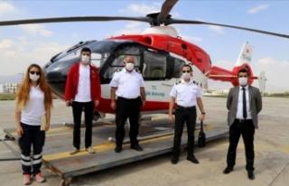Ambulans helikopter 'Hızır' gibi