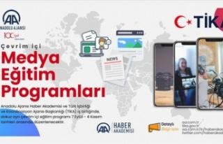 Anadolu Ajansı ve TİKA iş birliğiyle Çevrim İçi...