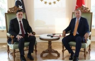 Ateşkes sonrası bir ilk! Erdoğan kabul etti