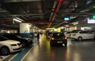 AVM otoparkları için LPG'li araç kararı