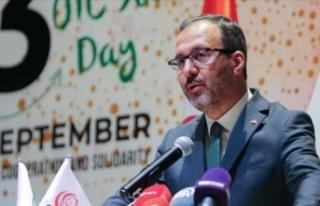 Bakan Kasapoğlu: İslam medeniyetimiz daima gençlerin...