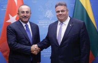 Çavuşoğlu ve Linkevicius: Türkiye ve Litvanya...