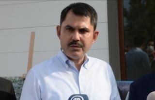 Çevre ve Şehircilik Bakanı Kurum: Sel bölgesindeki...