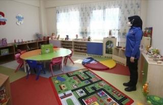 Cezaevindeki anne çocuk ünitesi haftaya faaliyete...