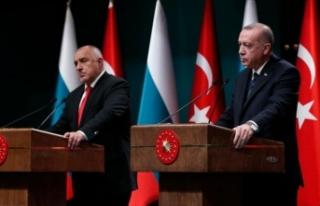 Cumhurbaşkanı Erdoğan, Bulgaristan Başbakanı...