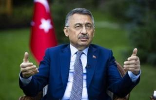 Cumhurbaşkanı Yardımcısı Oktay, Kızılay ekibine...
