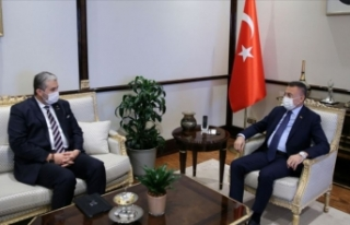 Cumhurbaşkanı Yardımcısı Oktay, MÜSİAD Başkanı...