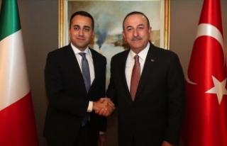 Dışişleri Bakanı Çavuşoğlu İtalyan Dışişleri...