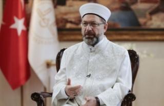 Diyanet İşleri Başkanı Erbaş: İslam düşmanı...