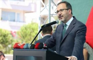 Gençlik ve Spor Bakanı Kasapoğlu açıkladı! Bugün...