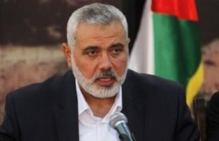 Hamas Siyasi Büro Başkanı Heniyye'den ulusal...