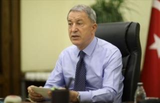 Hulusi Akar: Fransa, Doğu Akdeniz yetmiyor, Irak'ta...