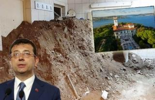 İBB, tarihi Hidiv Kasrı'nın altında kaçak...
