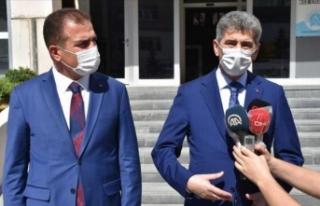 İçişleri Bakan Yardımcısı Muhterem İnce Yüksekova'da...