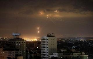 İsrail, Gazze'de Hamas'a ait noktaları...