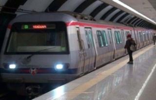 İstanbul'da metro istasyonunda dehşet anları