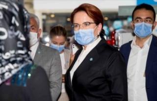 İYİ Parti Genel Başkanı Akşener, Kütahya'da...