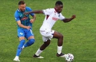Karadeniz derbisini Trabzonspor kazandı