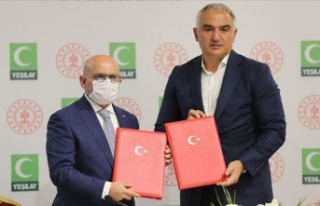 Kültür ve Turizm Bakanlığı ile Yeşilay arasında...