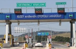 Kuzey Marmara Otoyolu'nda bir bölüm daha açılıyor