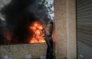 Darbeci Hafter milisleri ateşkesi yine ihlal etti