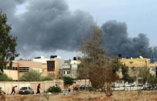 Libya'nın başkenti Trablus'ta intihar...