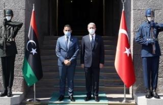 Milli Savunma Bakanı Akar ile Libya Savunma Bakanı...