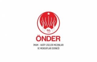 ÖNDER'in 17. kurultayı İstanbul'da sosyal...