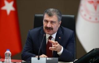 Sağlık Bakanı Fahrettin Koca'dan koronavirüs...