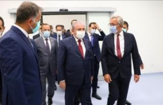 TBMM Başkanı Şentop, Tekirdağ Şehir Hastanesinde...