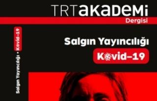 TRT Akademi dergisinden 'Kovid-19' özel...