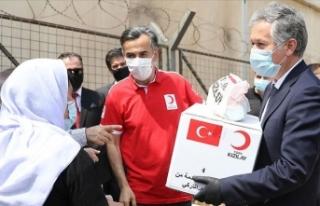 Türk Kızılay'dan Ezidilere yardım