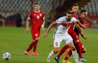 Türkiye UEFA Uluslar Ligi'nde Sırbistan ile...