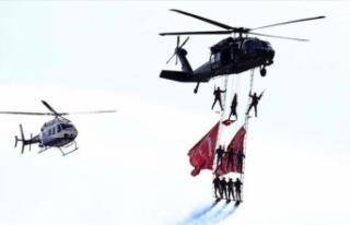 Yerli ve yabancı akrobasi pilotları Eskişehir'de...