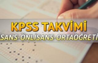 2020 KPSS ne zaman yapılacak? KPSS 2020 sınav tarihleri…