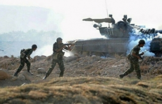 Azerbaycan ordusu Hocavend ilinin 3 köyünü işgalden...